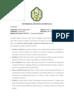 Reporte Lectura Unidad I