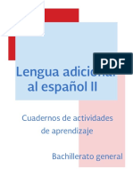 Cuadernillo Lengua Adicional Al Espanol II_SEP_cobach