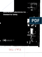 UL 142 - 1998-for steel aboveground tank for flammable liquid.pdf