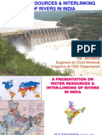 Water Resources & Interlinking of Rivers in India