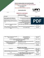 4Programación III ENCUENTRO DE SEMILLEROS DE INVESTIGACIÓN