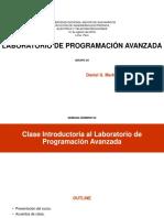 Lab. Programacion Avanzada Semana 02