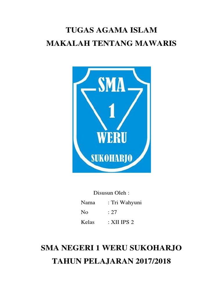 MAKALAH TENTANG MAWARIS