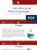Hidroclimatología 1