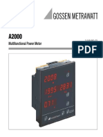 A2000 Multifunctional Power Meter
