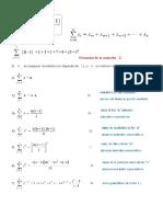 Fórmulas de La Notación