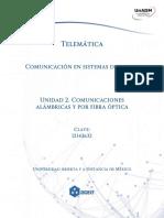 U2 Comunicaciones Alambricas y Por Fibra Optica