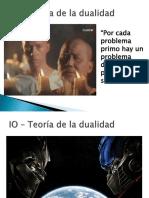 Teoría de La Dualidad