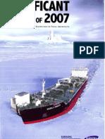 Significant Ships of 2007 - Cala Pancaldo
