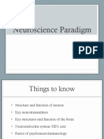 Neuroscience Paradigms