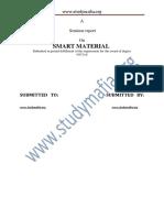 Civil Smart Material Report