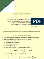 inverse Z transform.ppt