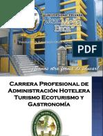 Adm Hotelera Turismo Ecoturismo y Gastronomia Umb