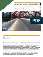 Power Your Big Data With SAP Lumira and Design Studio
