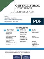 1.4 Estudios Preliminares