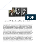 Frederick Douglass (200 Years Later)