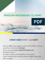 Panduan 212 Mart