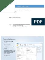 Dynamics Ax 2012 Core Financials Cash and Bank Management Bank Accounts