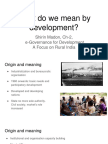 06 What Do We Mean by Development