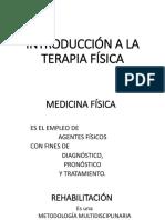 Introducción a La Terapia Física-Apunte