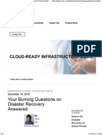 Disaster Recovery Answered