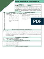Plan 1er Grado - Bloque 3 Matemáticas (2016-2017)
