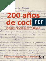 200 Anos de Cocina - Isabel Gonzalez Turmo.alba