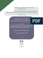 Rapport Duron (février 2018)