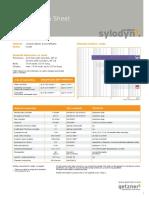 Data Sheet Sylodyn NF En