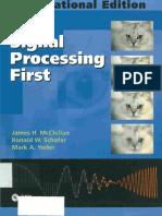 Book - McCllelan - Signal Processing First 2003