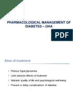 Type II Diabetes OHA Slides & Guidelines III