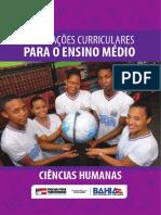 Orientações Curriculares Para o Ensino Médio Ciências Humanas