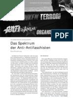 Das Spektrum der Anti-Antifaschisten - Eine Einleitung LOTTA #21