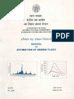 Manual on Estimation of Design Flood