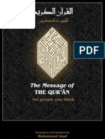 The Message of the Qur'an With Footnotes
