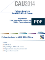 297089212 Fatigue Analysis in Caesar II