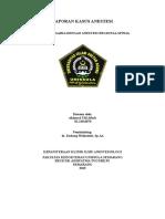 Laporan Kasus Anestesi Ulin - Copy