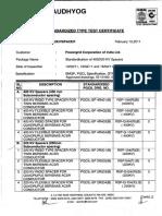 Pgcil - Spacers for Bersimis - 400kv & 220kv - Type Test Report