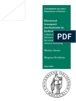 Electrical Transport Mechanisms