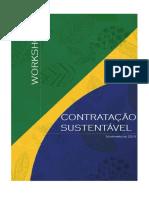 Workshop Contratacao Sustentavel