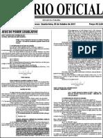 Diario Oficial 25-10-2017