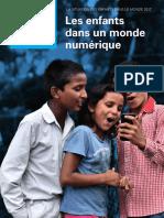 """La situation des enfants dans le monde 2017 """"Les enfants dans un monde numérique"""