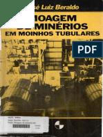 Moagem de Minérios Em Moinhos Tubulares - Beraldo - 1987