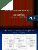 Metode de Instruire Moderne Centrate Pe Elv