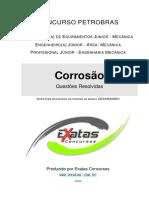 Amostra Petrobras Eng. Equipamentos Jr. Mecanica Corrosão