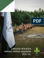 Lietuvos skautijos metinė veiklos ataskaita 2017 m.