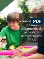 eBook - As Consequencias Do Nao Pagamento Da Pensao de Alimentos Aos Filhos