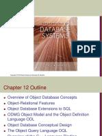 12 Object Database