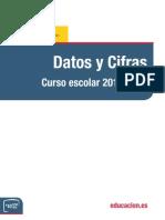 Datos CURSO ESCOLAR 2010-11 MEC