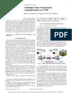 High Definition Video Transmission